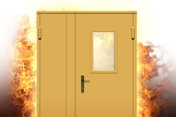 что из себя представляют противопожарные межкомнатные двери