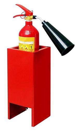 Подставки для огнетушителей п15 и п20 - напольные и настенные 5
