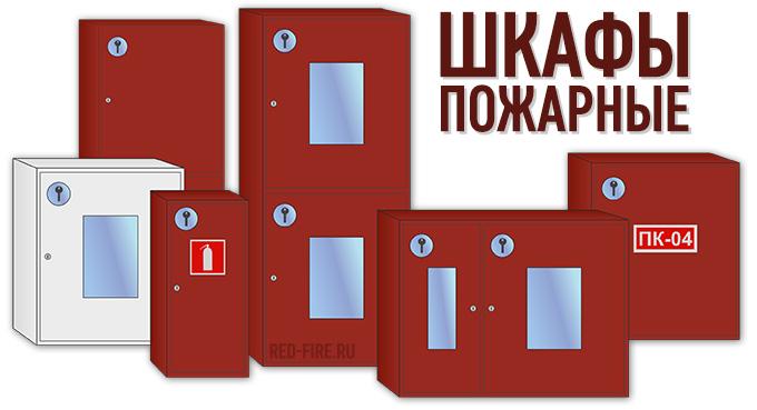 Шкафы пожарные виды и комплектации